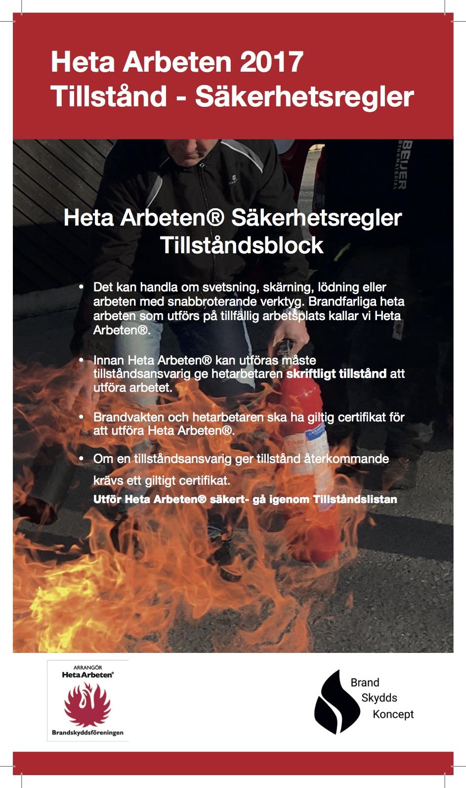 tillstånd brandfarlig vara handbok